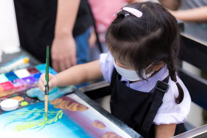 childcare Yale study no covid spread